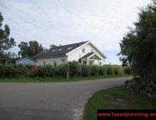 Falkenberg - Fasadputs på Leca