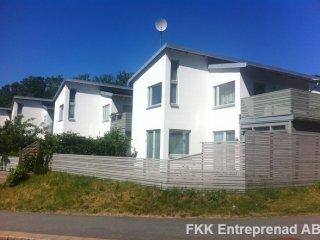 Göteborg - Renoverad enstegstätad fasad - 6st hus