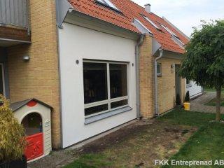 Bjärred - Renovering av enstegstätad fasad