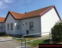 Staffanstorp - Renoverad enstegstätad fasad - 8st hus