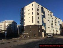 Vi utför fasadputs på bostadsrättsföreningar